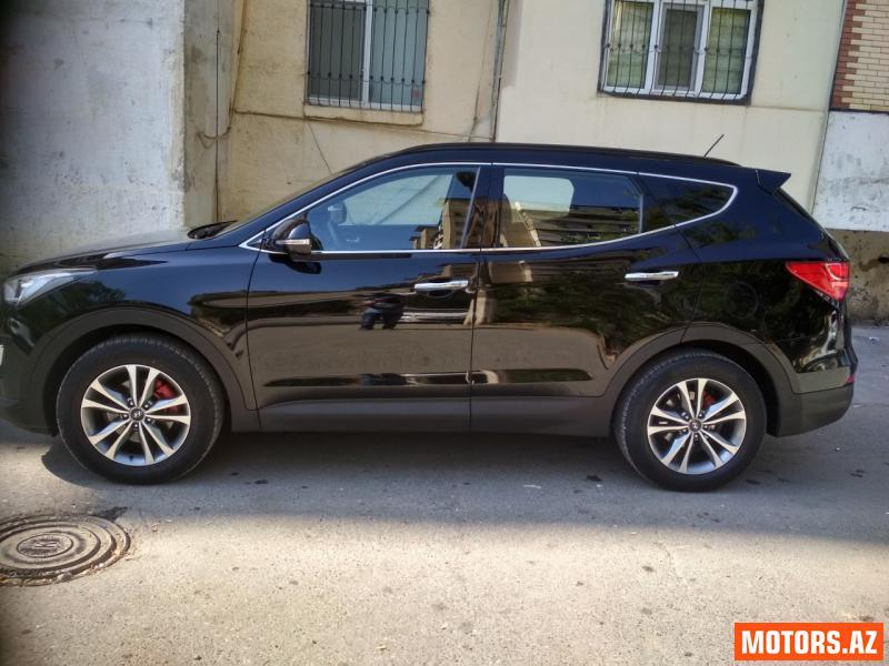 Hyundai Santa Fe 34800 2015