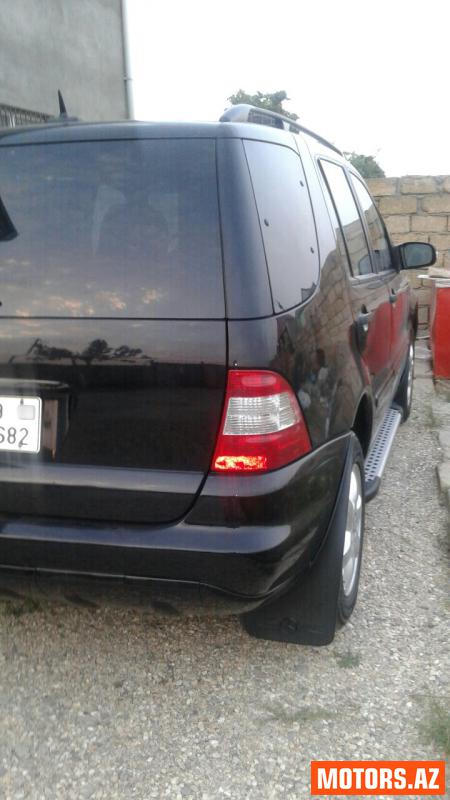 Mercedes-Benz ML 350 16200 2003