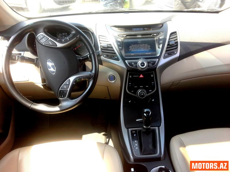 Hyundai Elantra 20500 2014