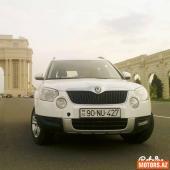 Skoda Yeti 12500 2012