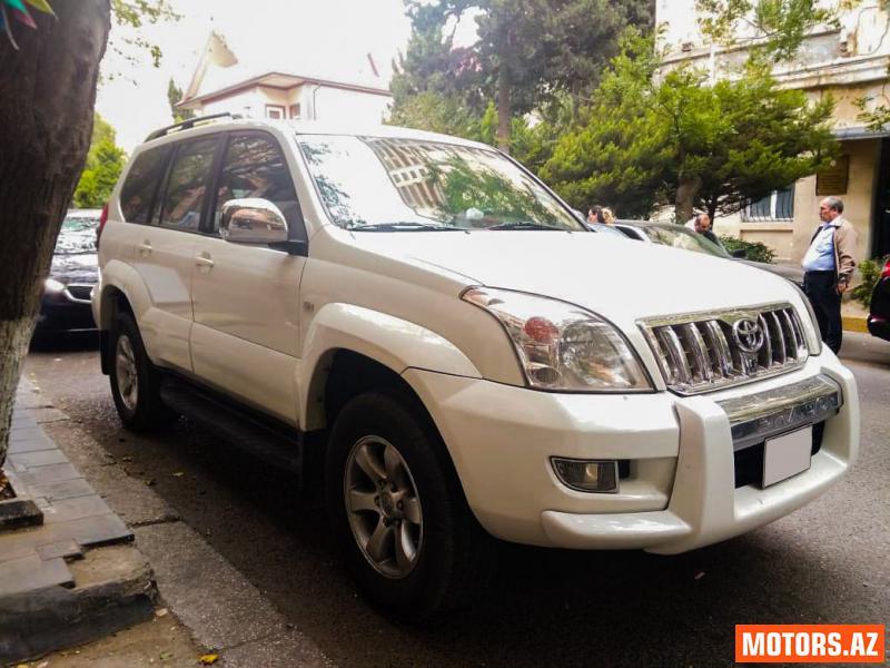 Toyota Prado 36500 2008