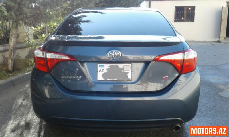 Toyota Corolla 26800 2015