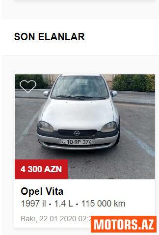 Opel Vivaro 4300 1997