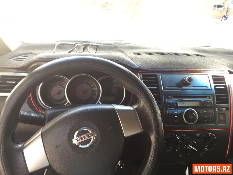 Nissan Tiida 12800 2007