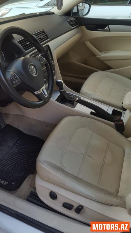 Volkswagen Passat 19000 2012