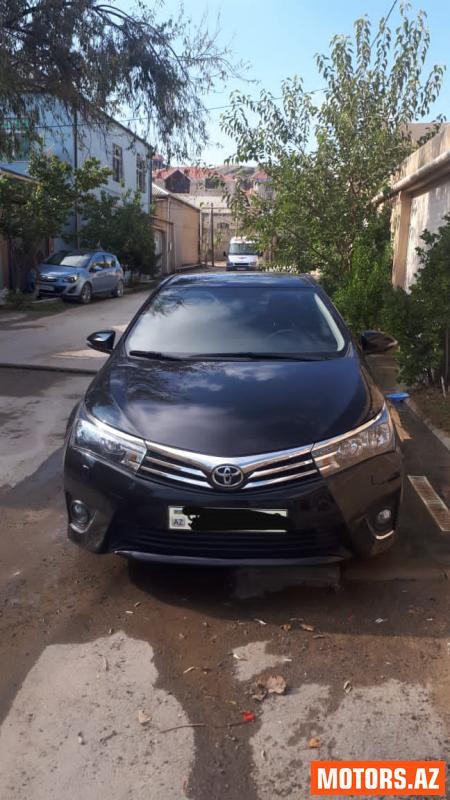 Toyota Corolla 12800 2014